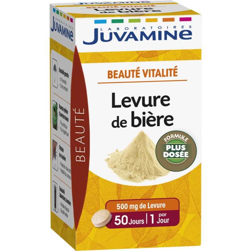 Levure de bière beauté et vitalité, Juvamine (x 50 comprimés)