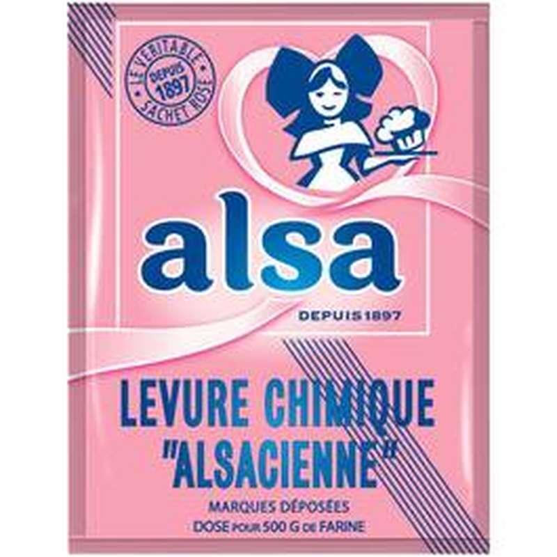 Levure chimique, Alsa (8 x 11 g)
