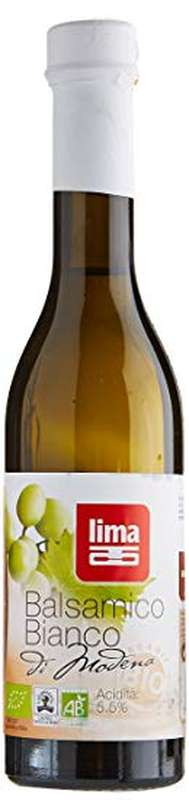 Vinaigre balsamique blanc BIO, Lima (250 ml)