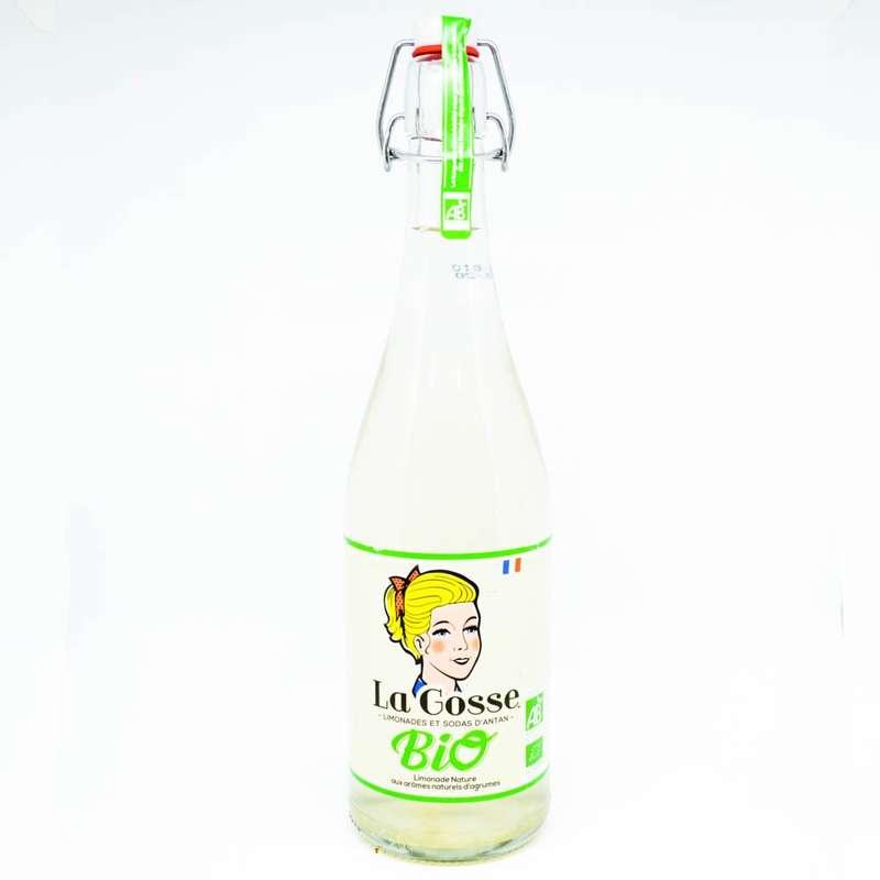Limonade artisanale BIO, La Gosse (75 cl)