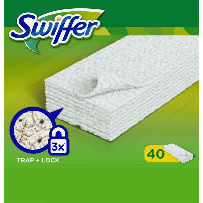 Lingettes dépoussiérantes, Swiffer (x 40)
