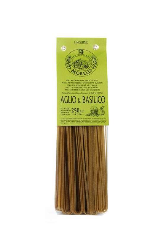 Linguine Ail Basilic, Morelli (250 g)