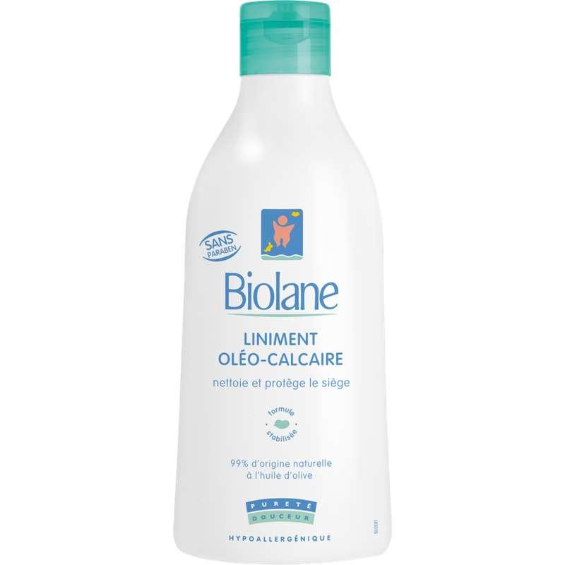 Liniment oléo-calcaire pour bébé, Biolane (300 ml)