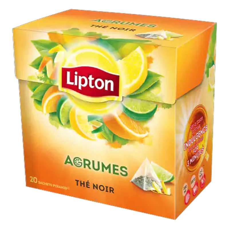 Thé aux agrumes, Lipton (20 sachets)
