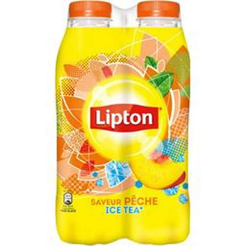 Pack Ice Tea pêche Lipton (4 x 50 cl)