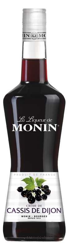 Liqueur de Cassis 16°, Monin (70 cl)