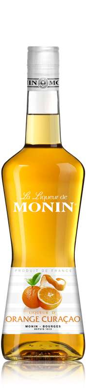 Liqueur de Curaçao Orange 24°, Monin (70 cl)
