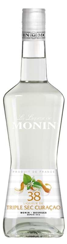 Liqueur Triple Sec Curaçao, Monin (70 cl)