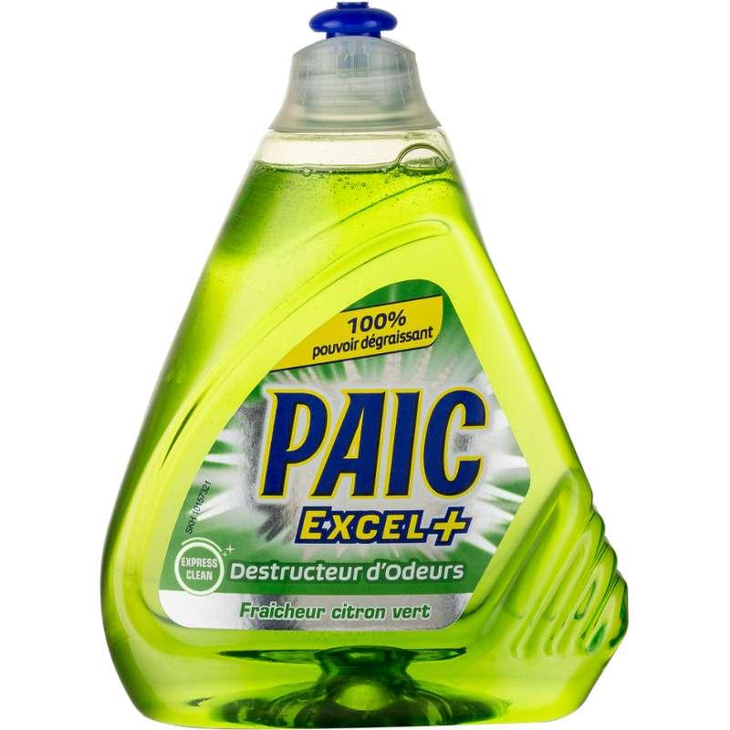 Liquide vaisselle anti odeur Excel+, Paic (500 ml)