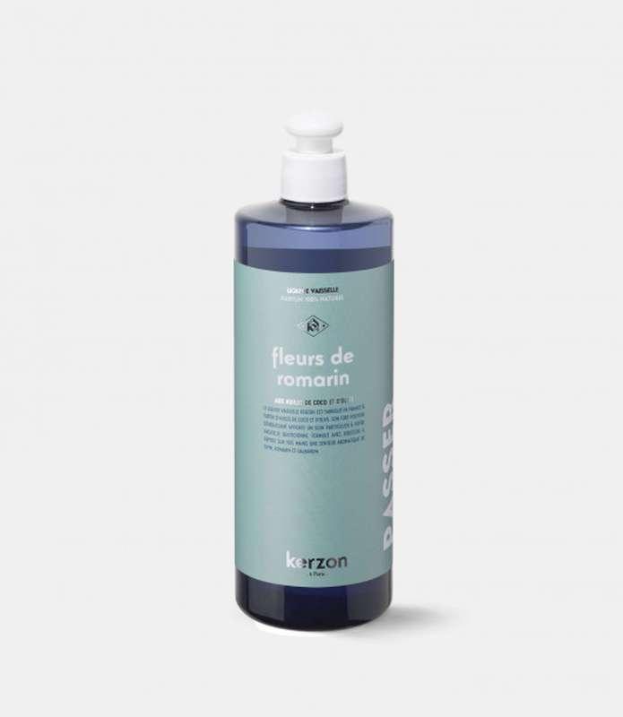 Liquide vaisselle Fleurs de Romarin, Kerzon (500 ml)