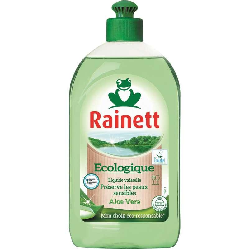 Liquide vaisselle écologique pour peaux sensibles Aloe Vera, Rainett (500 ml)