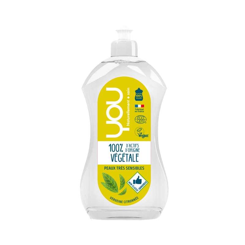 Liquide vaisselle main verveine citronnée, You (500 ml)