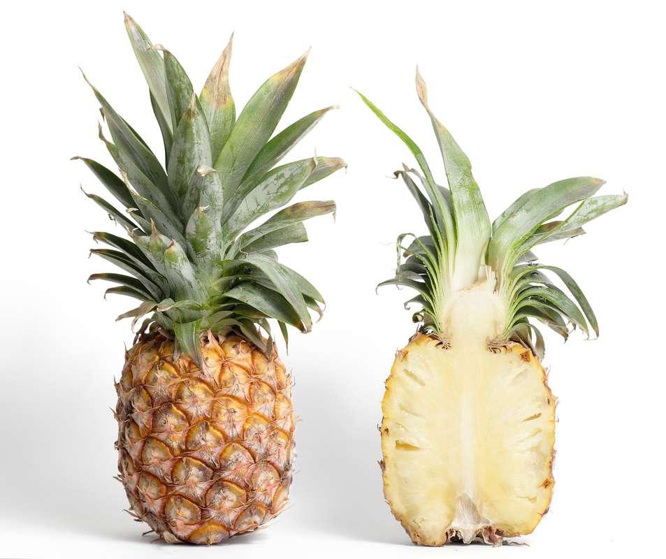 """Lot de 2 ananas extra sweet BIO """"à mûrir"""" (petit calibre), Côte d'Ivoire"""