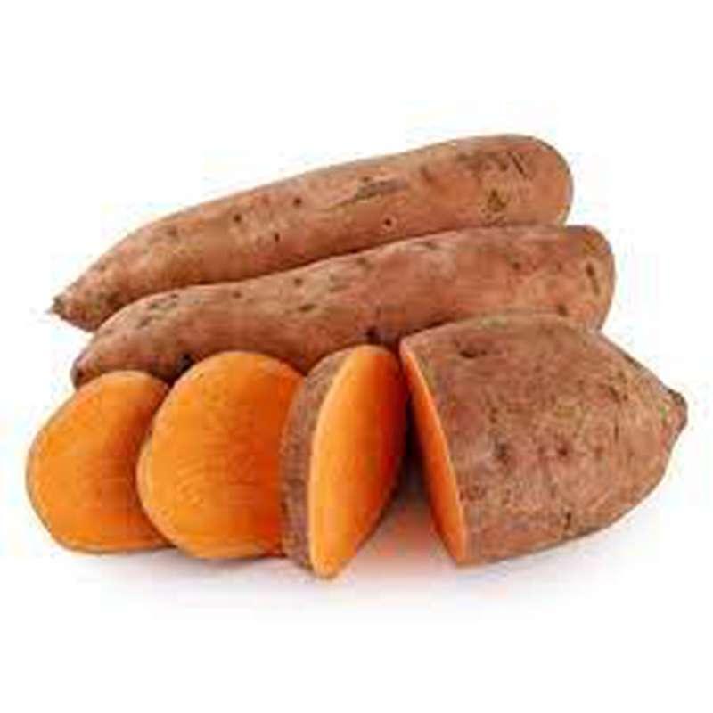 Lot de 3 patates douces (calibre moyen), Égypte