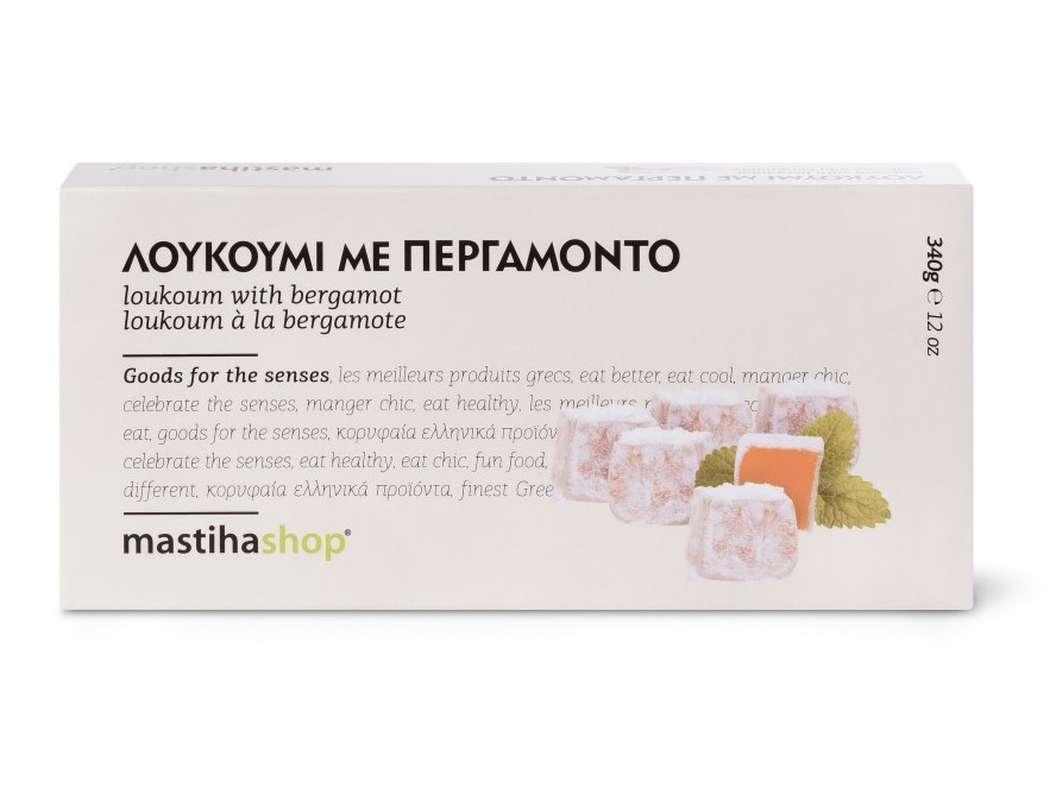 Loukoum à la Bergamote, Mastihashop (340 g)