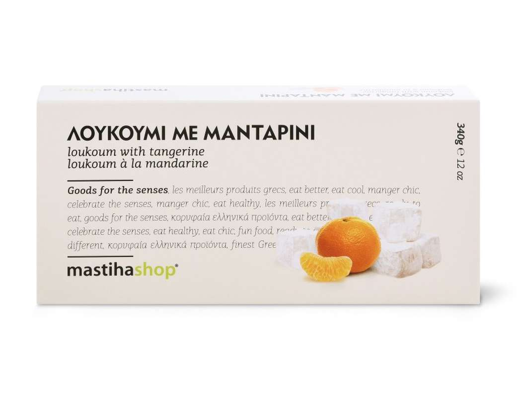 Loukoum à la mandarine, Mastihashop (340 g)