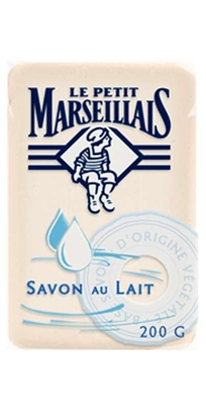Savonnette au lait, Le Petit Marseillais (200 g)