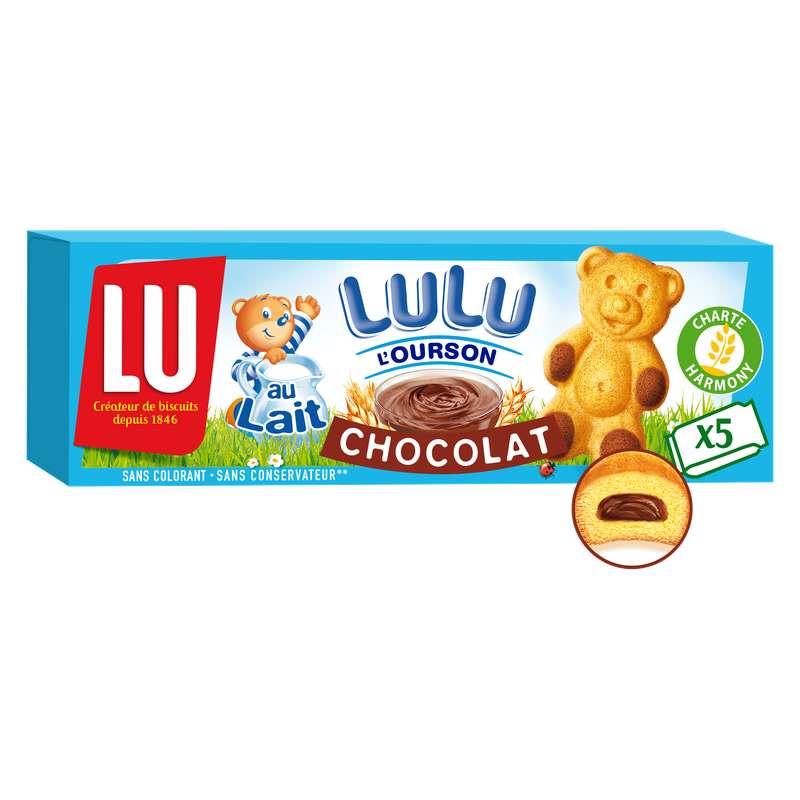 Lulu L'ourson au chocolat, Lu (x 5, 150 g)