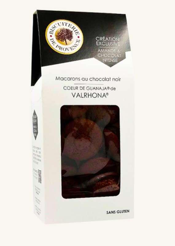 Macarons des Baronnies chocolat Valrhona Sans Gluten,  Biscuiterie de Provence (130 g)