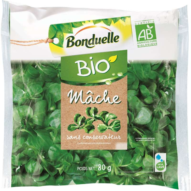 Mâche BIO, Bonduelle (80 g)