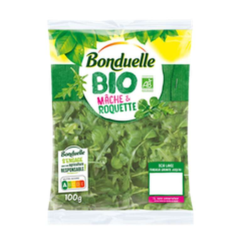 Mâche et Roquette BIO, Bonduelle (100 g)