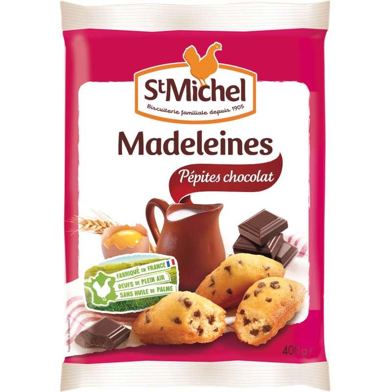 Madeleine aux pépites de chocolat, St Michel (400 g)