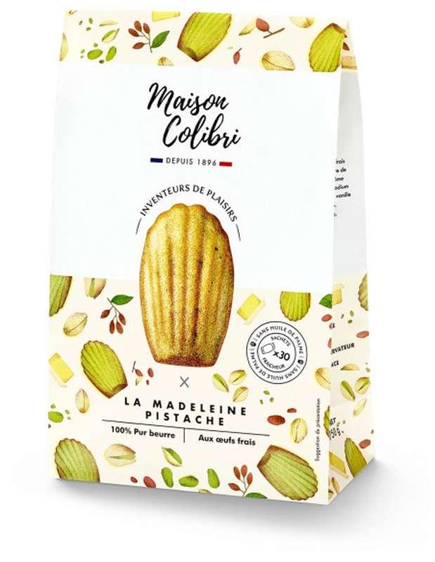 Madeleines saveur pistache, Maison Colibri (x 10, 250 g)