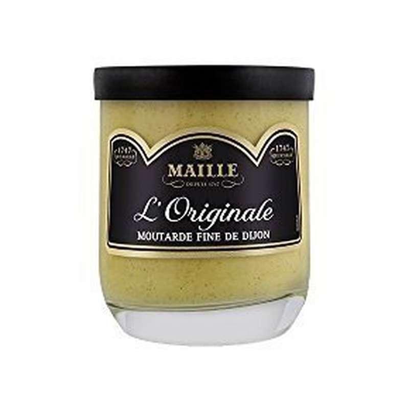 Moutarde de Dijon fine et forte, Maille (165 g)