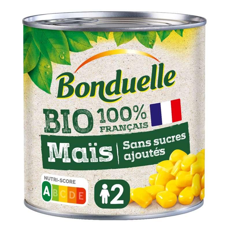 Maïs sans sucres ajoutés BIO, Bonduelle (285 g)