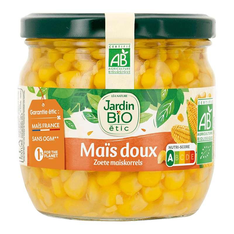 Maïs doux BIO, Jardin Bio étic (330 g)