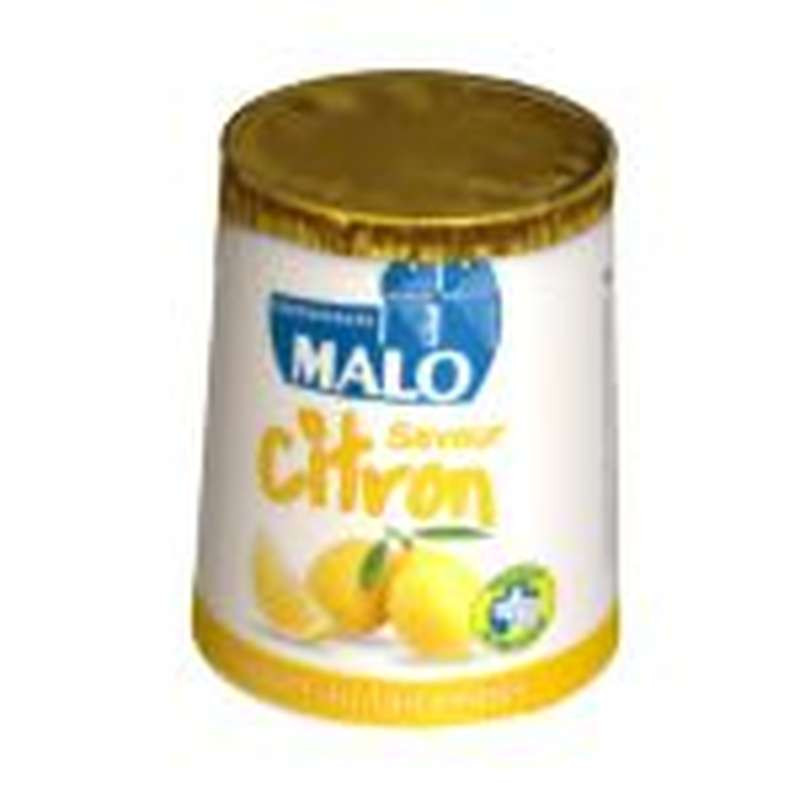 Yaourt citron, Malo (4 x 125 g)
