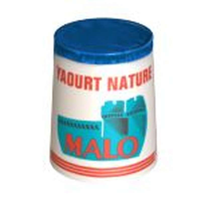 Yaourt nature, Malo (4 x 125 g)