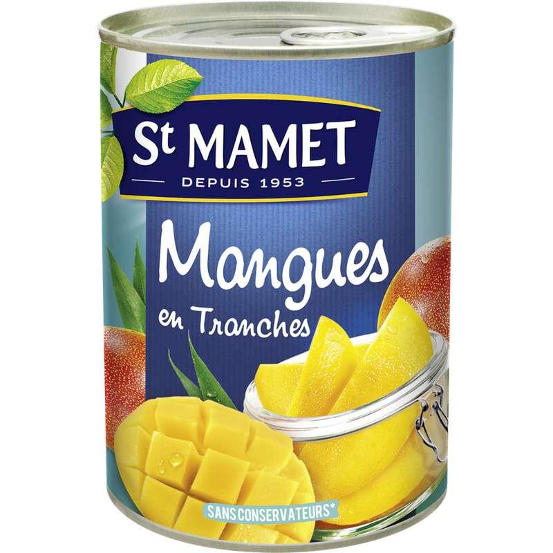 Mangues au sirop, St Mamet (235 g)