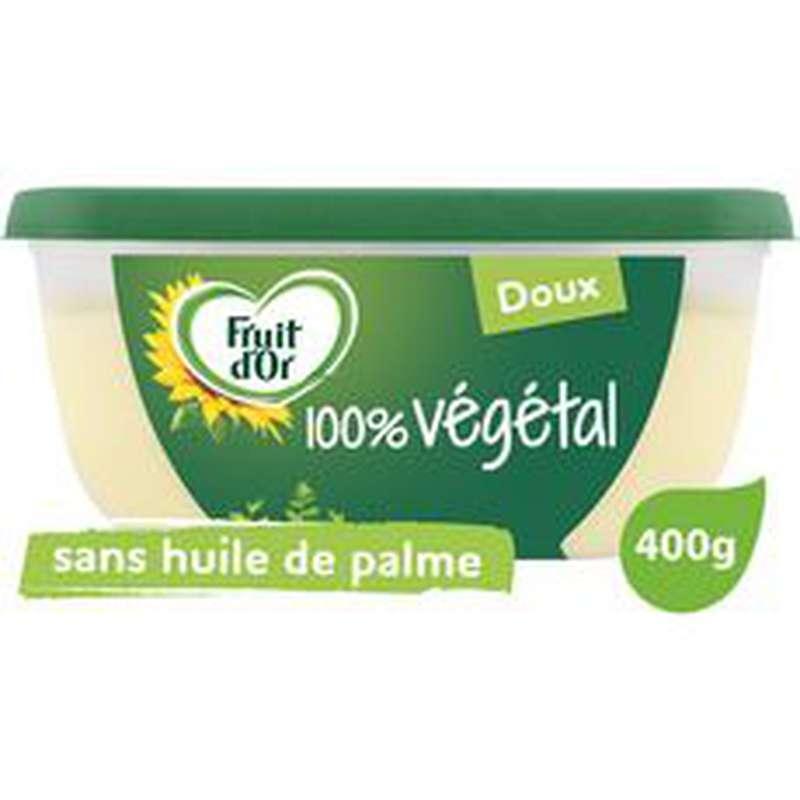 Margarine doux sans huile de palme, Fruit d'Or (400 g)