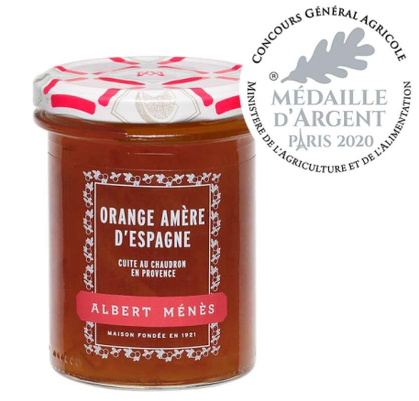 Marmelade d'Orange amère d'Espagne, Albert Ménès (280 g)