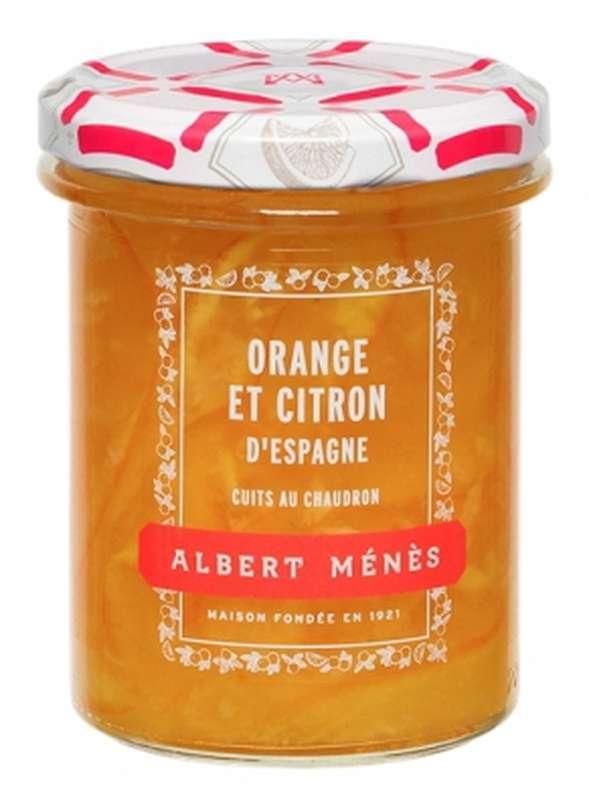 Marmelade d'Orange et de Citron d'Espagne, Albert Ménès (295 g)