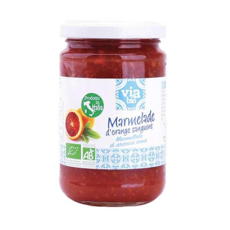 Marmelade d'orange sanguine BIO, Via Bio (370 g)