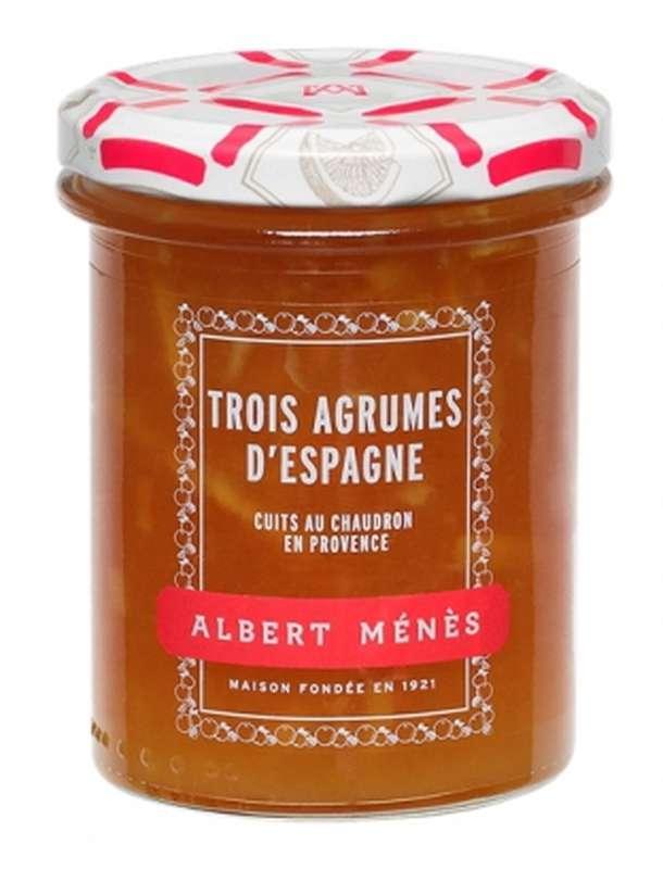 Marmelade de trois agrumes d'Espagne, Albert Ménès (280 g)