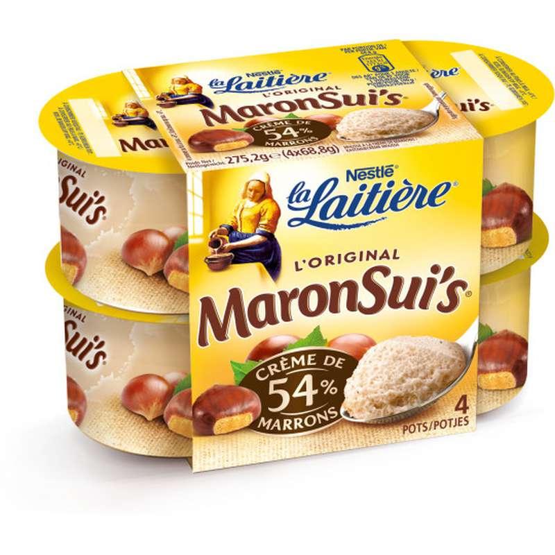 Maronsui's, La Laitière (4 x 68.8 g)