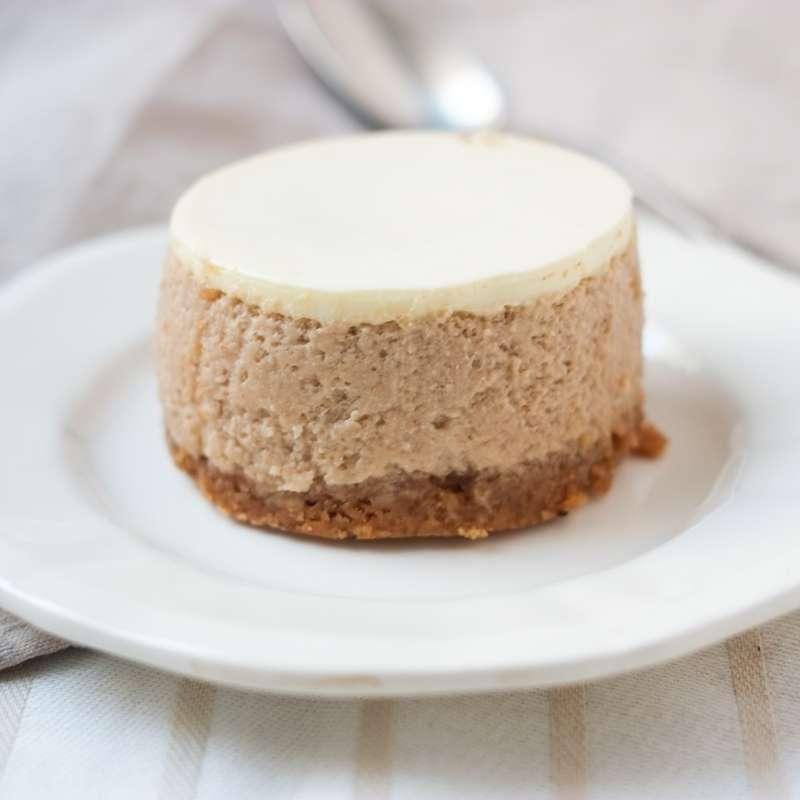 Cheesecake crème de marrons, Rachel's cake