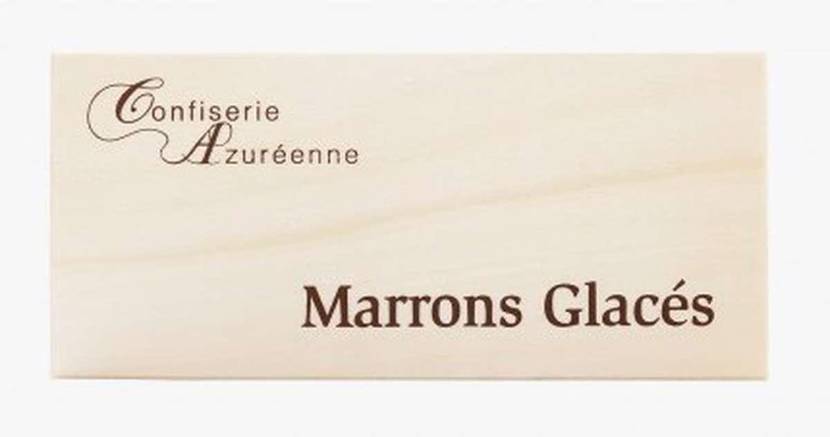 Marrons glacés - Confiserie Azuréenne, Corsiglia (x 12, 240 g)