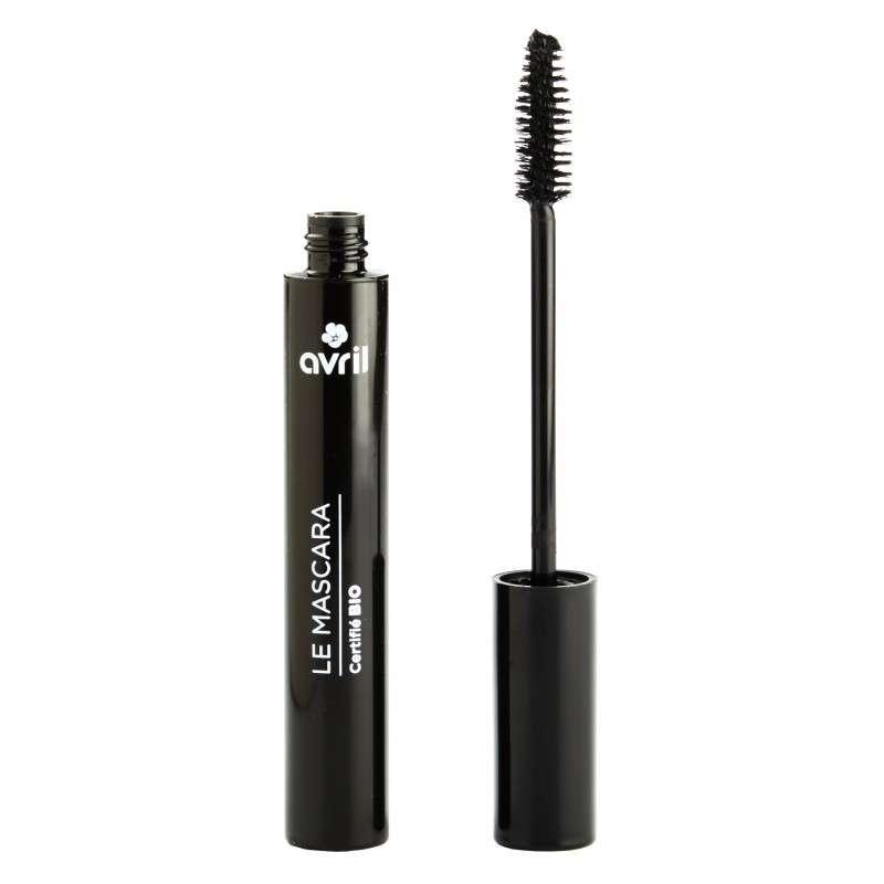 Mascara longue tenue noir certifié BIO, Avril (9 ml)