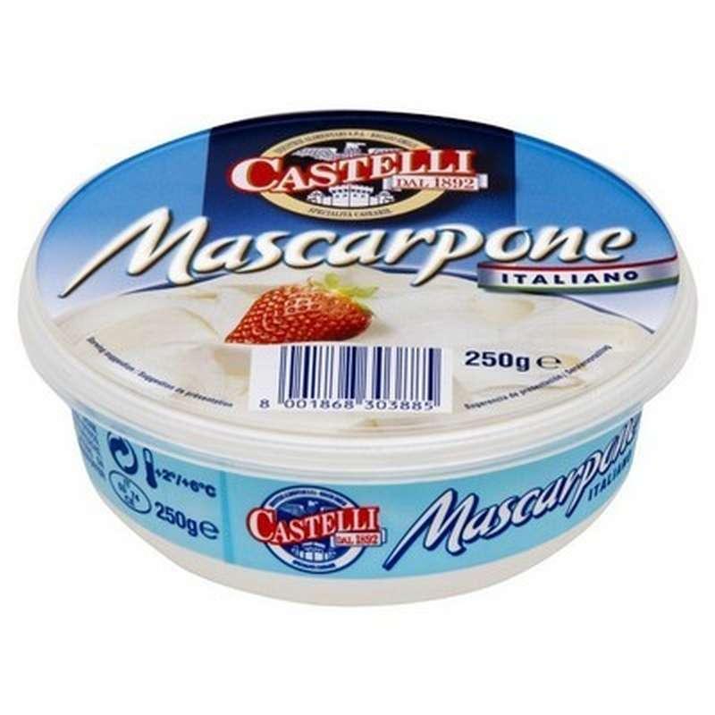 Mascarpone triple crème Castelli (250 g)