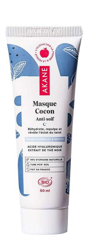 Masque Cocon Anti-soif BIO, Akane (50 ml)