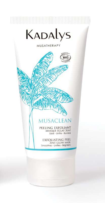 Masque Peeling exfoliant Musaclean BIO, Kadalys (50 ml)