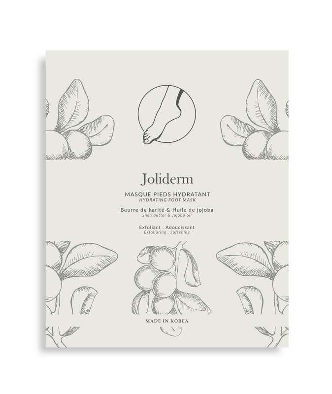 Masque pieds hydratant, Joliderm (x 2)