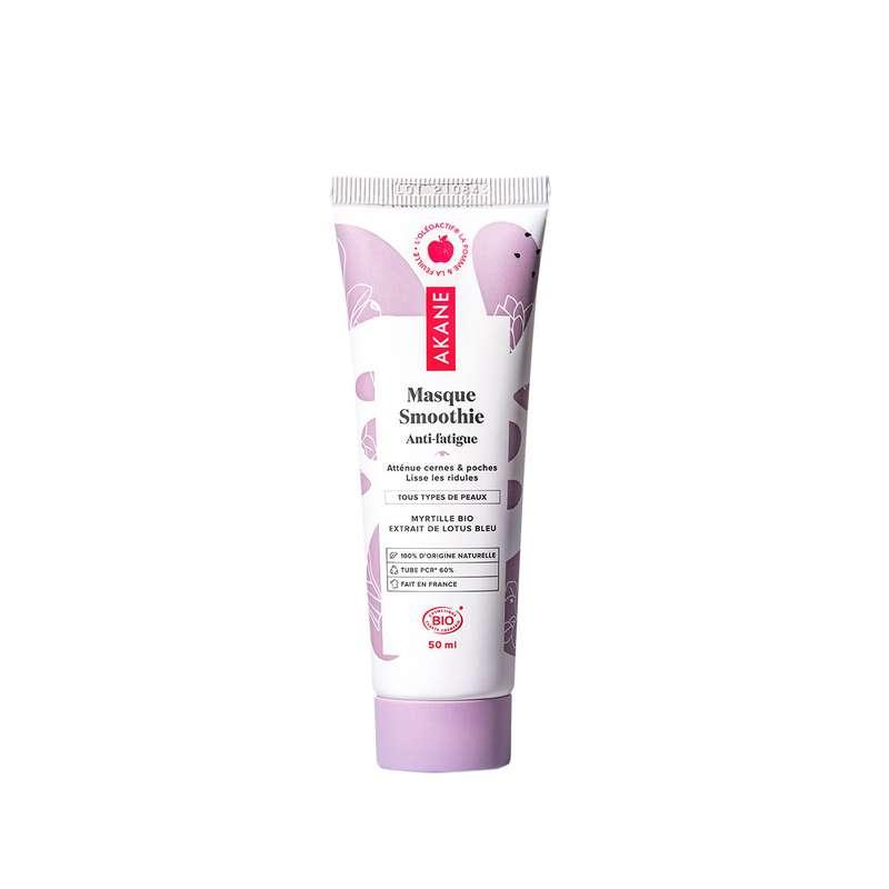 Masque Smoothie Anti-fatigue BIO, Akane (50 ml)