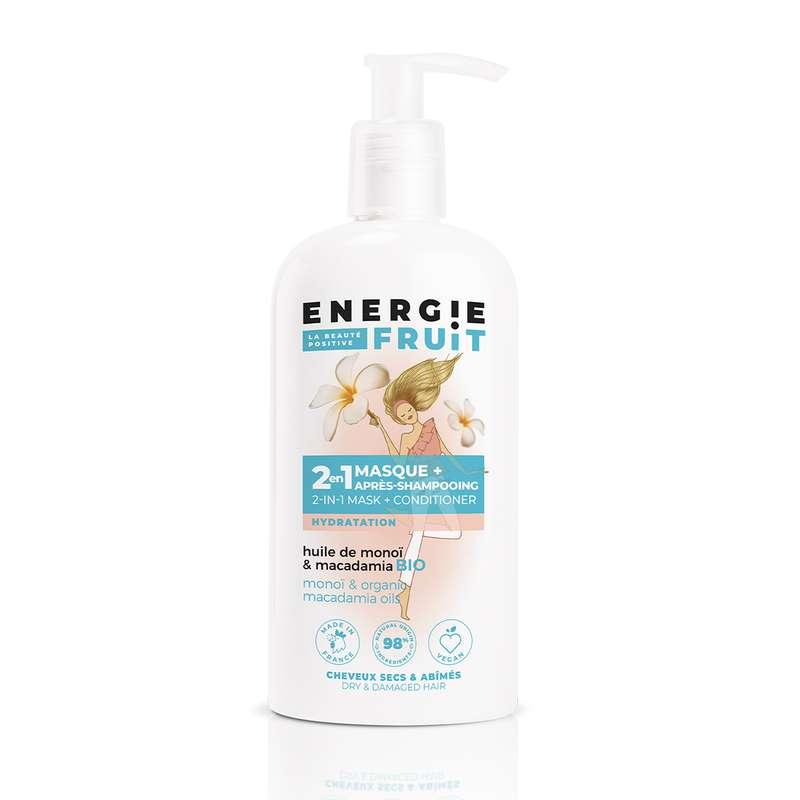 Masque soin 2 en 1 parfum Monoï et Macadamia, Energie Fruit (300 ml)