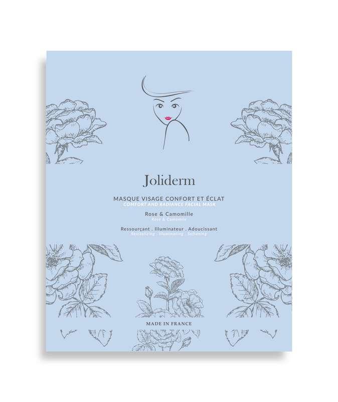Masque visage confort et éclat, Joliderm (x 1)