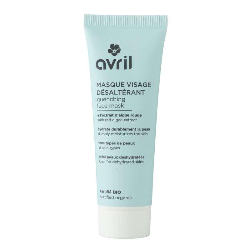 Masque visage désaltérant certifié BIO, Avril (50 ml)